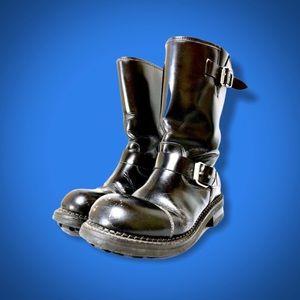 Robert Wayne Men's Motto Leather Boots